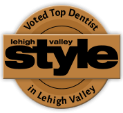 Voted top dentist in Lehigh Valley: Lehigh Valley Style